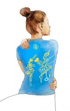 "Интегральная футболка ""The Perfect One Jasmine"""
