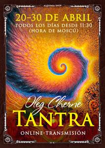 """Online-transmisión del taller """"Tantra"""""""