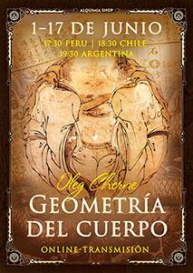 """Transmisión de práctica de """"La Geometría del cuerpo"""" online"""