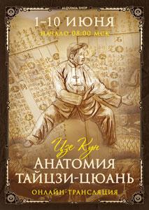 Онлайн-трансляция практикума «Анатомия тайцзи-цюань»