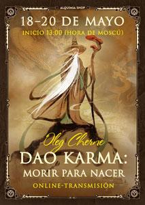 """Transmisión del programa """"Dao Karma. Morir para nacer"""" online"""