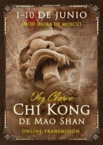 """Transmisión online del seminario """"Chi Kong de Mao Shan"""""""