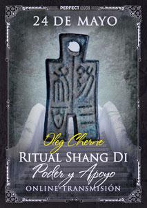 """Transmisión del programa """"Ritual Shang Di. Poder y Apoyo"""" online"""