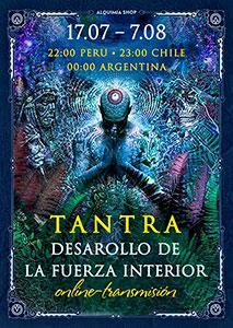 """Transmisión de práctica de """"Tantra. Desarrollo de la Fuerza mística"""" online"""