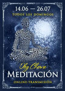 """Transmisión del programa """"Meditación"""" online"""