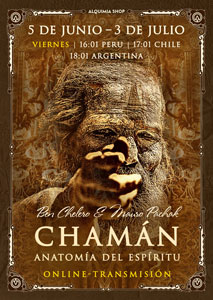 """Transmisión online del seminario """"Chamán. Anatomía del Espíritu"""""""