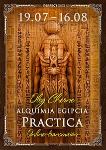 "Programa ""Alquimia Egipcia. Práctica"" online"