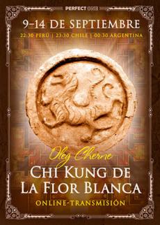 """Seminario """"Chi Kung de La Flor Blanca"""" [online]"""