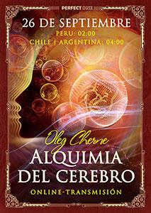 """Charla """"Alquimia del cerebro"""" [online]"""