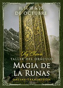 """Ciclo de charlas """"Taller del Oráculo. Magia de las Runas"""" [online]"""