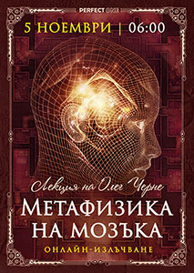 "Лекция ""Метафизика на мозъка"" [онлайн]"