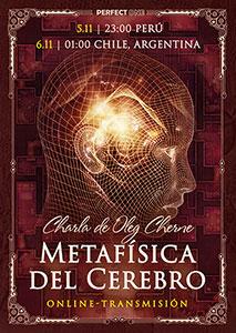 """Charla """"Metafísica del cerebro"""" [online]"""