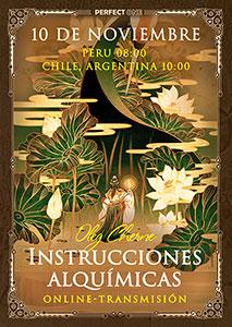 """Charla """"Instrucciones Alquímicas"""" [online]"""