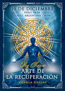 """Charla """"Arte de la recuperación"""" [online]"""